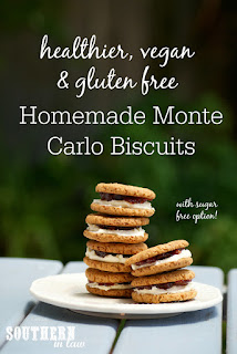 Gluten Free Monte Carlo Biscuits Recipe Vegan