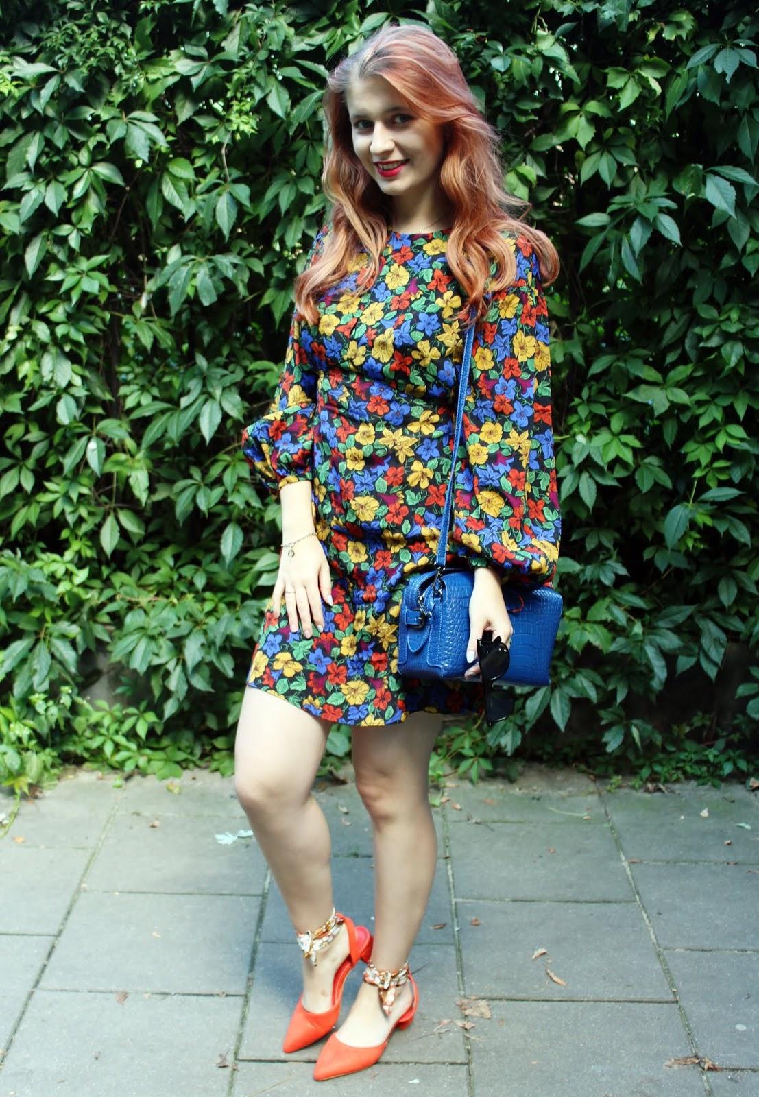 Sukienka w kwiaty …