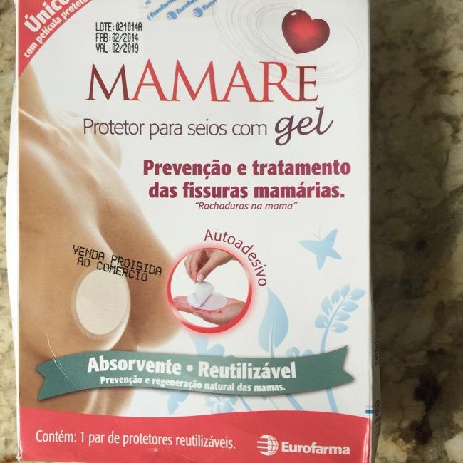 Mamare - Protetor para seios com gel
