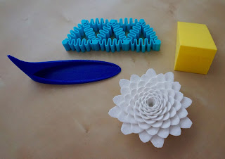 3D printed science models