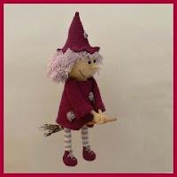 Bruja buena a crochet