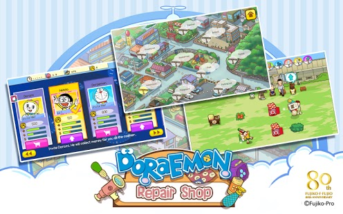 Doraemon Repair Shop for android