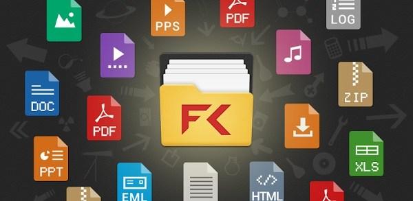 تطبيق فايل كوماندر لإدارة الملفات علي الاندرويد المقدم من سوني File Commander