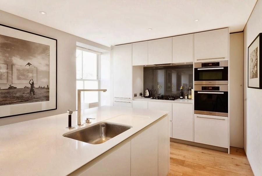 Apartament w Londynie w nowoczesnym i klasycznym stylu, wystrój wnętrz, wnętrza, urządzanie domu, dekoracje wnętrz, aranżacja wnętrz, inspiracje wnętrz,interior design , dom i wnętrze, aranżacja mieszkania, modne wnętrza, styl nowoczesny, styl klasyczny, nowoczesna kuchnia