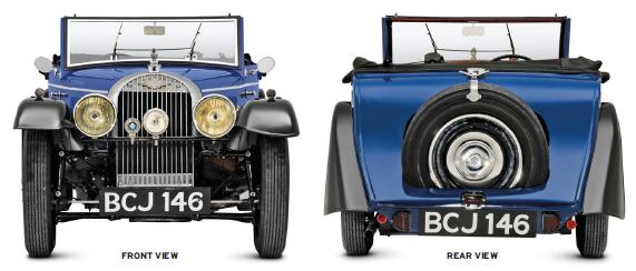 Classic-car morgan-1938