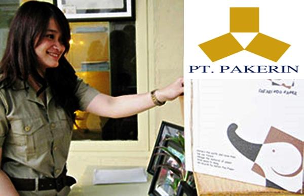Lowongan Kerja PT Pabrik Kertas Indonesia (PAKERIN) | Posisi: Environment, Marketing, Accounting, Customer Service Officer