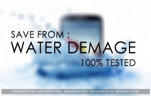 Cara selamatkan Smartphone yang terkena air di jamin berhasil!