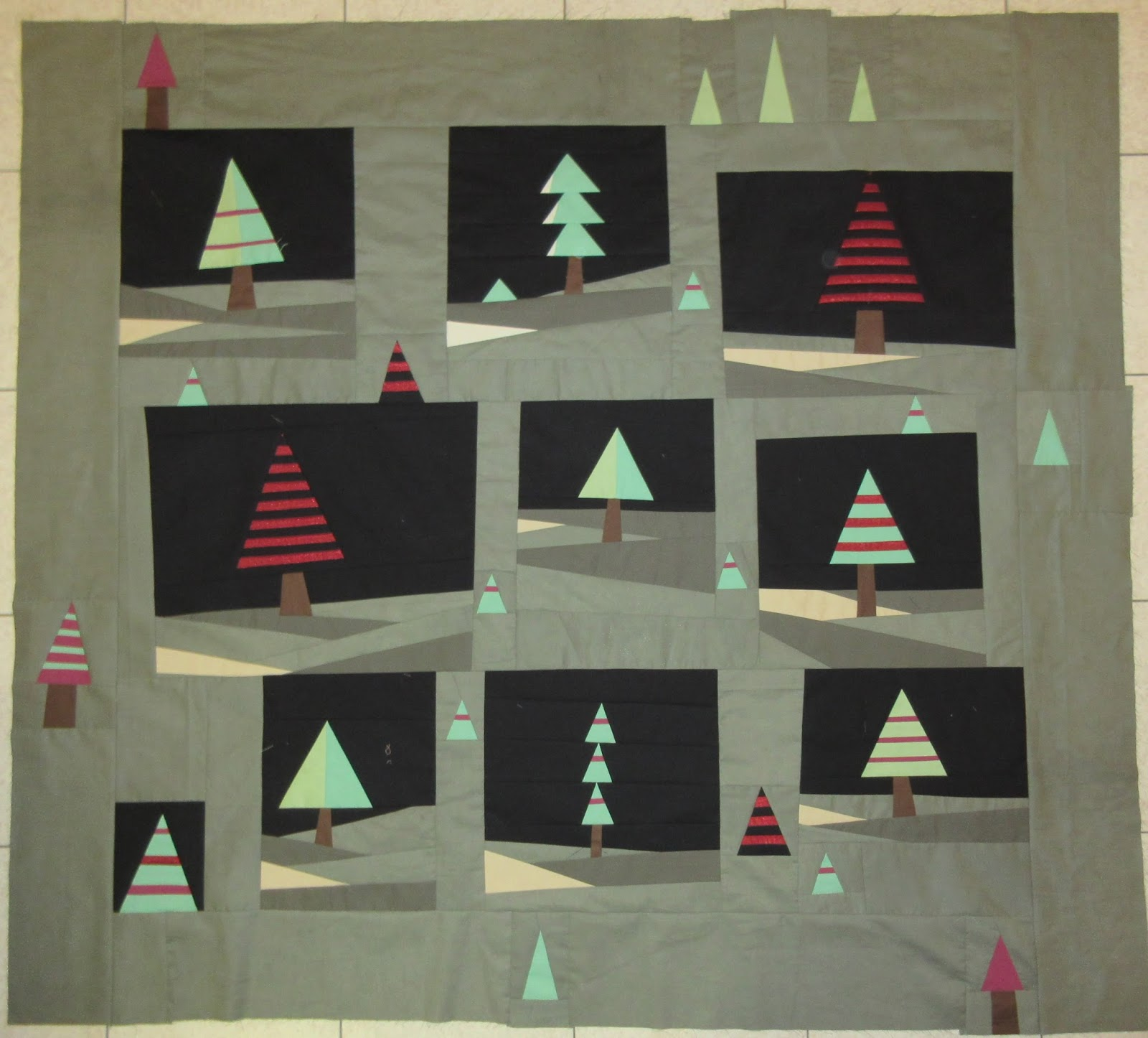 Life As A Quilter -- Julia Graber: Holiday Pines ... Continued