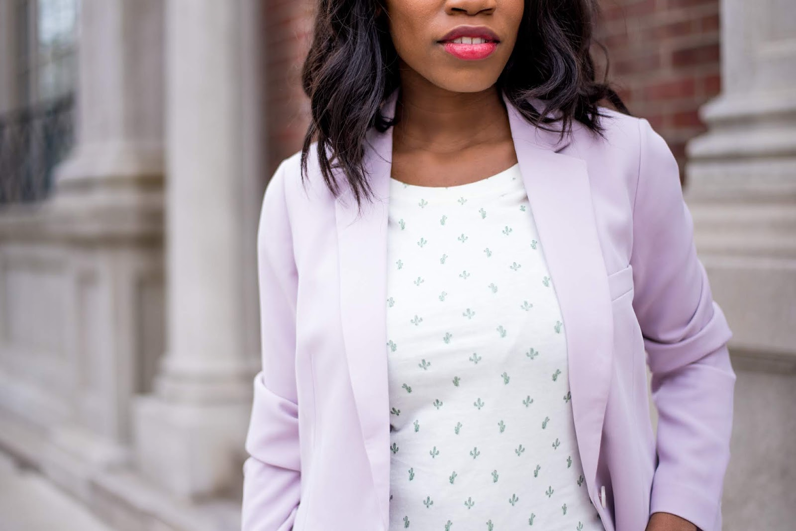 How to Wear a Pastel Suit for Spring, Toronto Blogger