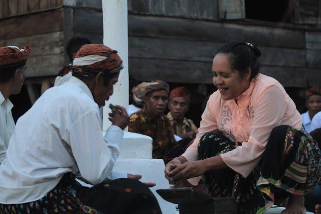 Ritual adat manggarai