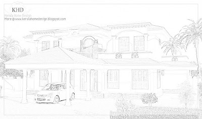 223 square meter (2400 sf.ft) House Elevation - October 2011
