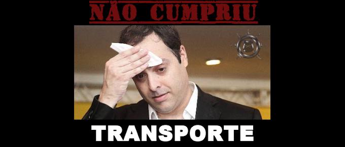 O QUE PAULO CÂMARA NÃO CUMPRIU – TRANSPORTE PÚBLICO
