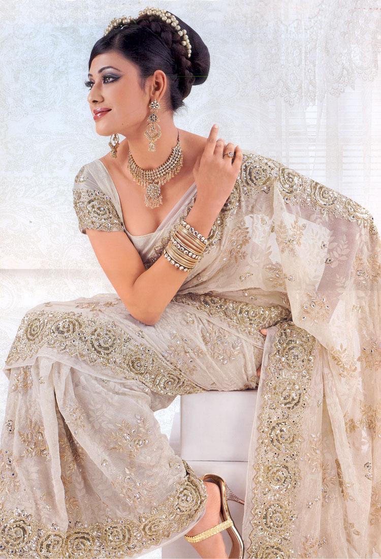Fashion Designs Stars White Lehenga Choli Pictures