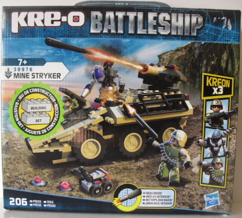 review : KreO Battleship - Mine Stryker 38976