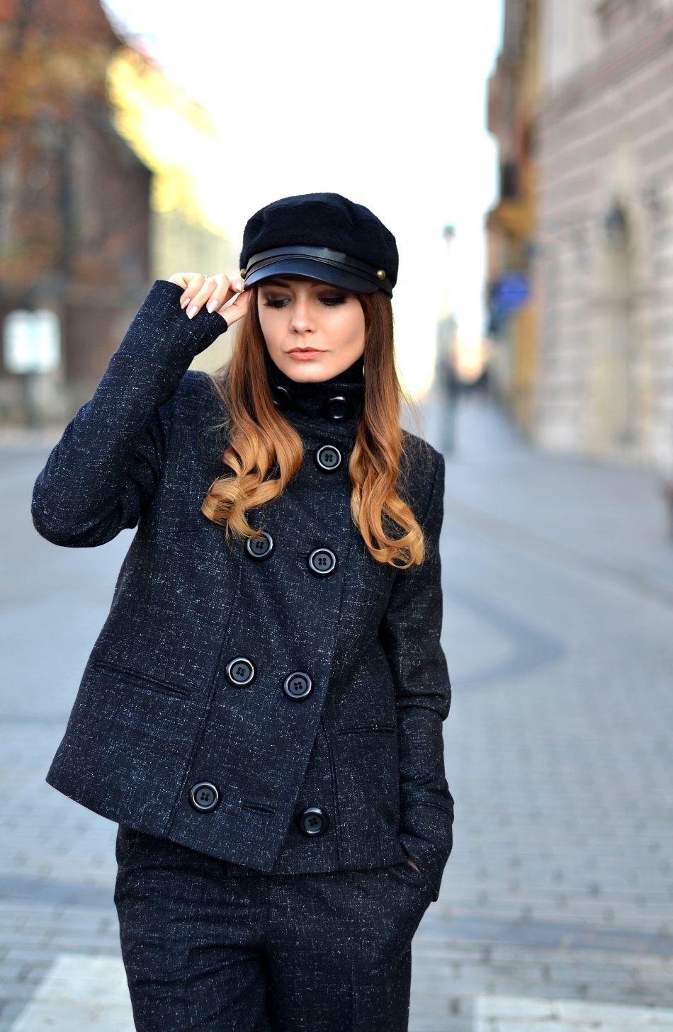 blogi o modzie | blog modowy | najlepszy blog modowy w polsce | blogerka modowa wspolpraca | blogerka z krakowa | outfit format marka | welniany plaszcz jesien zima 2015 | kaszkiet modny