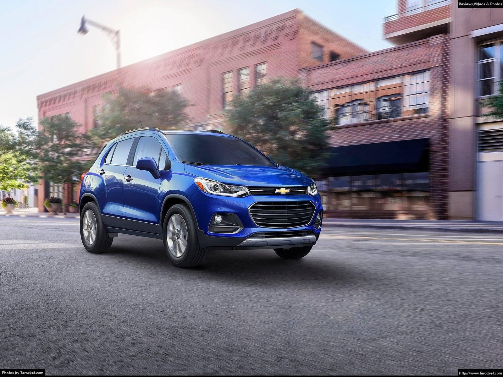 Hình ảnh xe ô tô Chevrolet Trax 2017 & nội ngoại thất