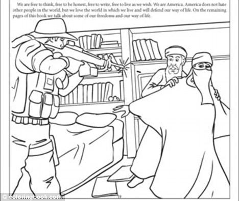 """El controversial libro para colorear """"Nunca olvidaremos el 11 de ..."""
