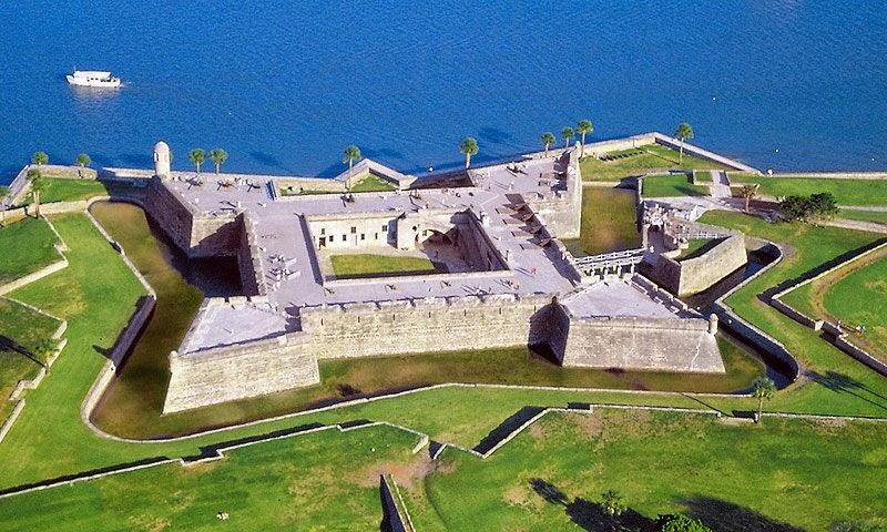 Saint Augustine na Flórida | Fortaleza