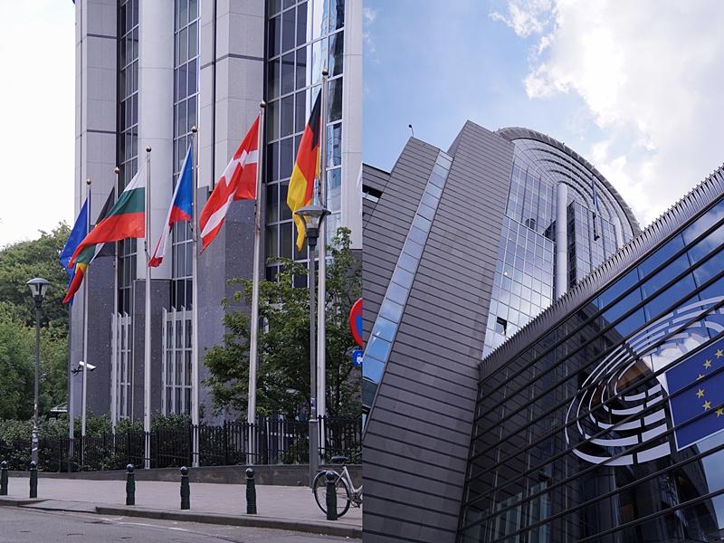Gebäude des Europäischen Parlaments, Europaviertel Brüssel