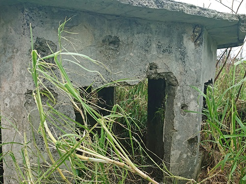 与那城監視哨跡の写真
