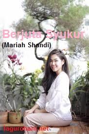 Download Lagu Rohani Berjuta Syukur (Mariah Shandi)