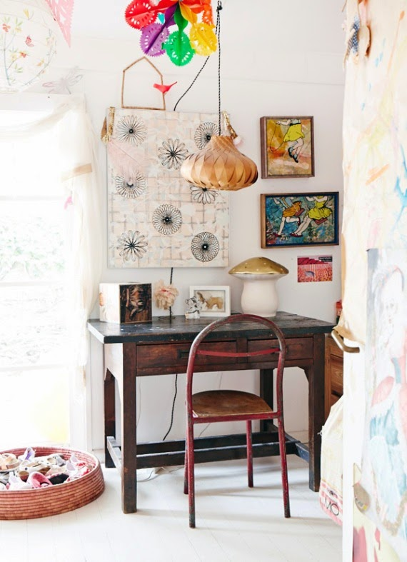 eclectic decor children room
