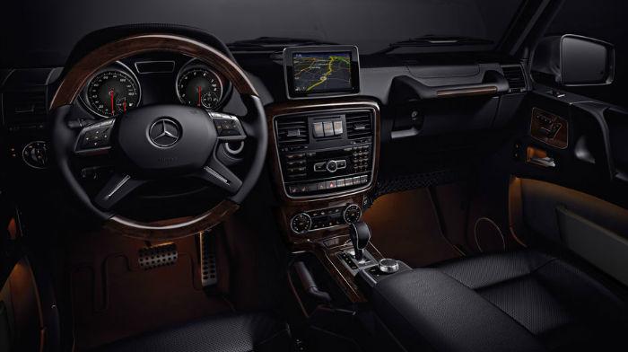 Mercedes-Benz g wagon interior