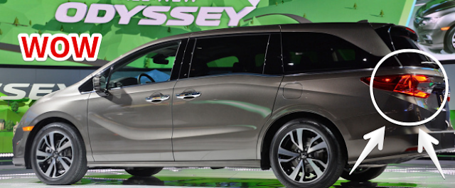 2017 Detroit Auto Show Preview : The 2018 Honda Odyssey