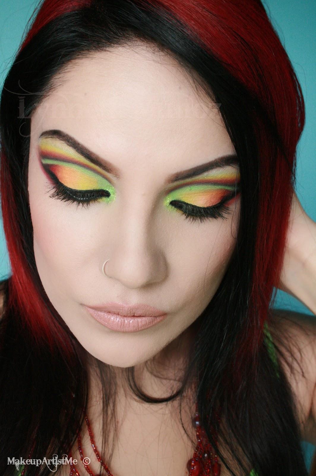 Make Up Artist Me Lets Dance Makeup Tutorial
