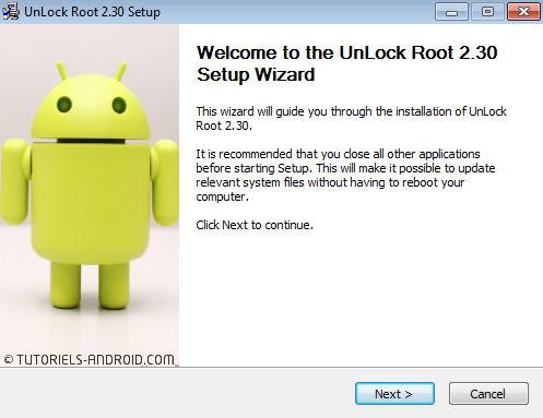 Unlock Root 2.30 Setup