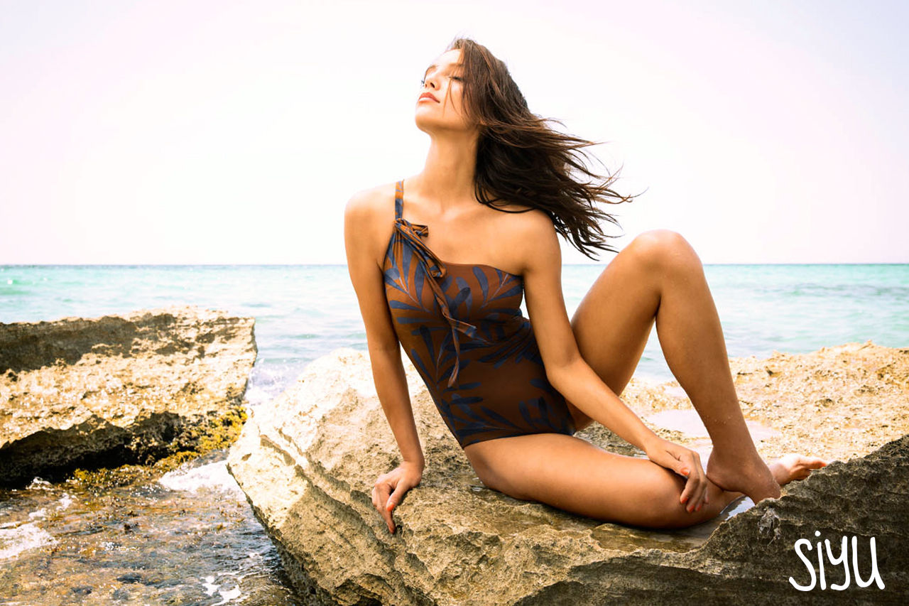 SIYU Swimwear campaign, photographed by Petra Obermueller