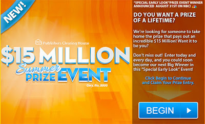 House of Sweepstakes: PCH Win $15,000,000 00 Prize of Lifetime