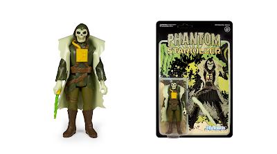 Phantom Starkiller Lich Green Edition ReAction Figure by Killer Bootlegs x Super7