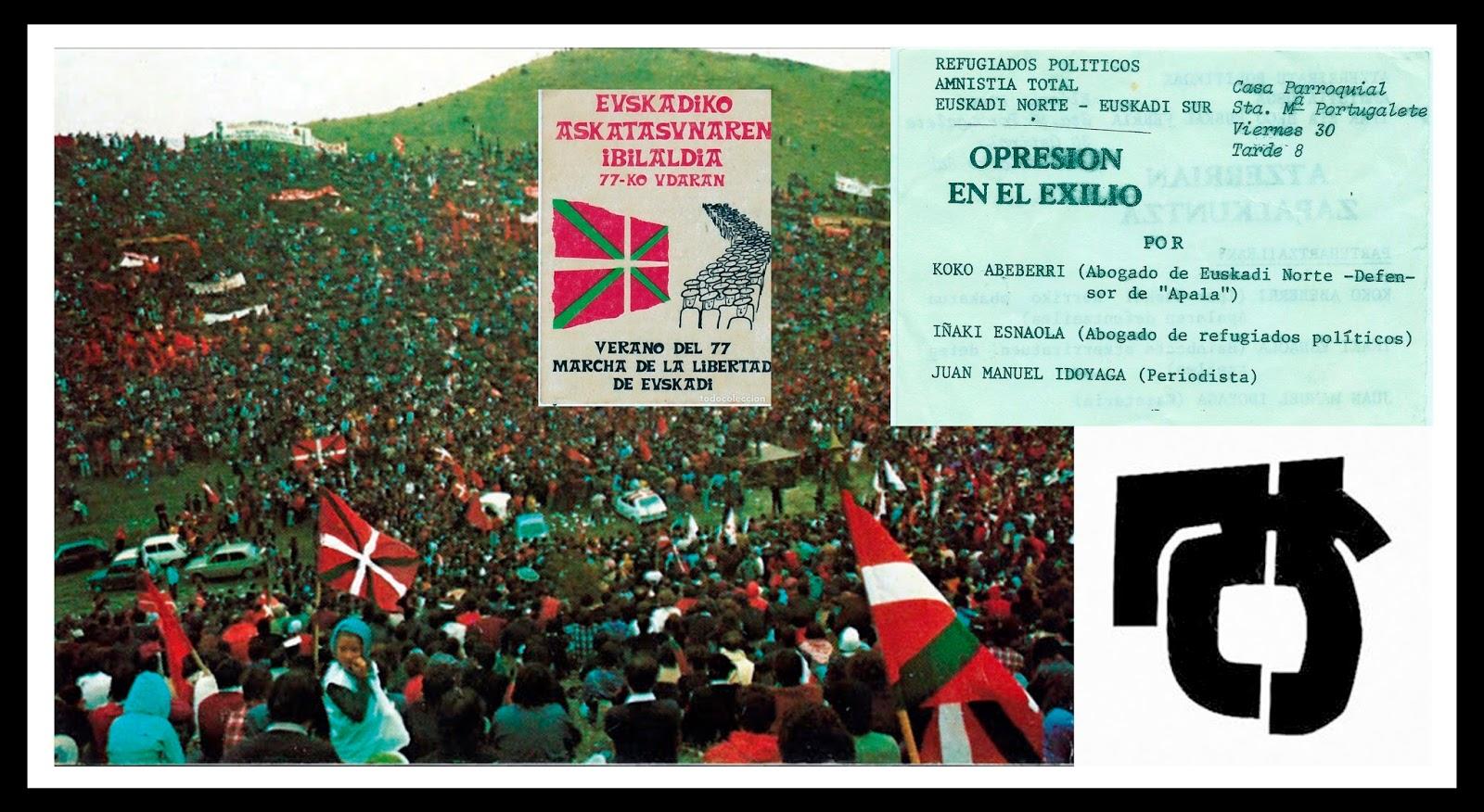 El Mareometro Blog: LA MARCHA DE LA LIBERTAD DE 1977