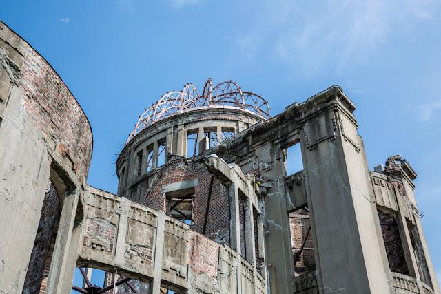 Detalle del Monumento de la Paz de Hiroshima :: Canon EOS5D MkIII | ISO100 | Canon 24-105@40mm | f/9.0 | 1/125s