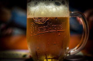 Glass of Pilsner Urquell
