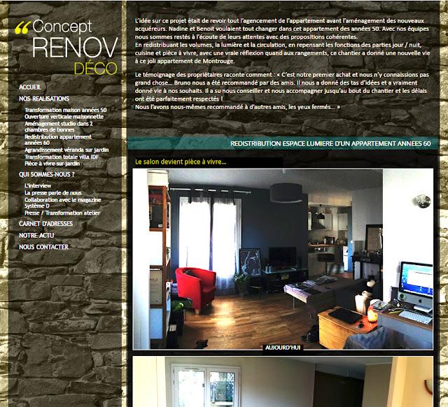 #ConceptRenovDeco Architecte intérieur