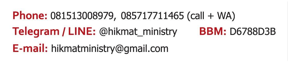 INFO HIKMAT MINISTRY