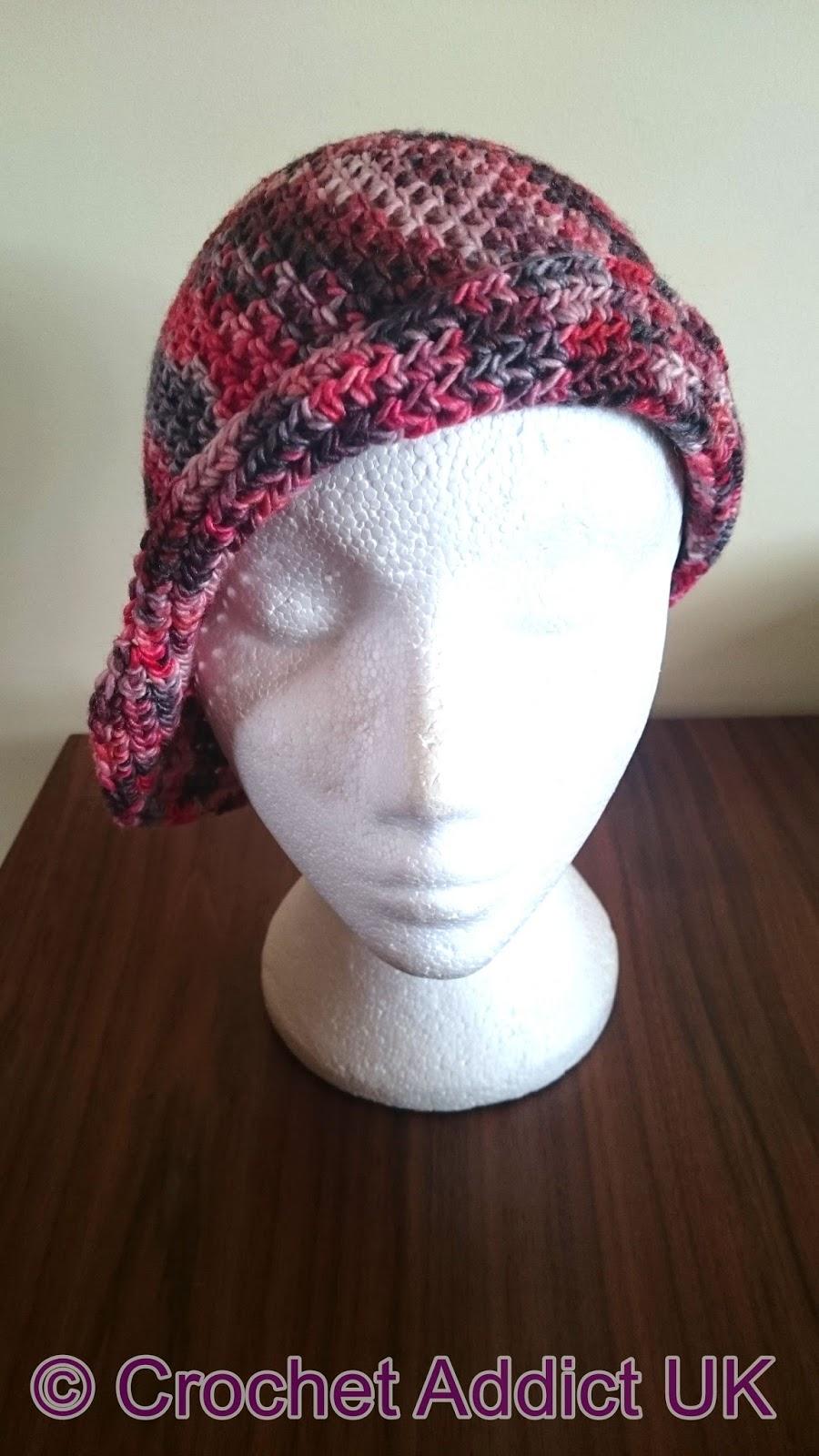 Charlotte Flapper Cloche Hat Free Crochet Pattern