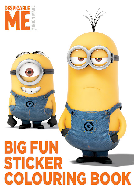 Despicable Me Big Fun Book To Colour