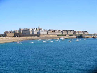 Walled City of Saint Malo Brittany France
