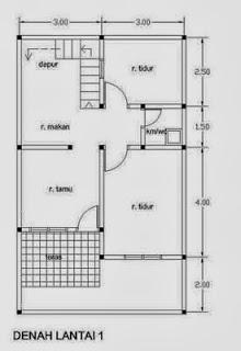 Image Result For Desain Rumah Minimalis Modern Sempit