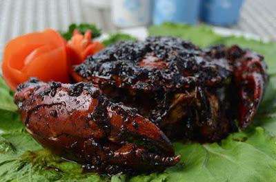 cara memasak kepiting lada hitam sederhana - resep enak lezat