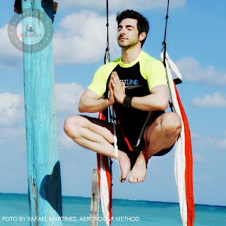 RAFAEL AMRTINEZ CREATOR OF AEROYOGA® METHOD,