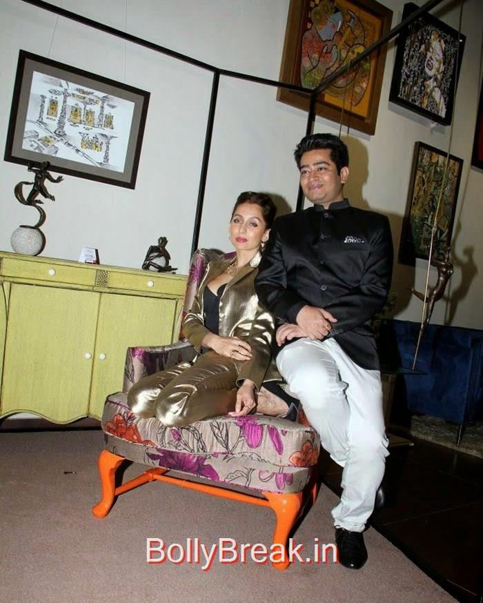 Anousha Dandekar, Harsh Gupta, Anindita Nayar, Zoya Afroz Hot Pics At Harsh Gupta's SS15 Collection Preview at Fabula Rasa