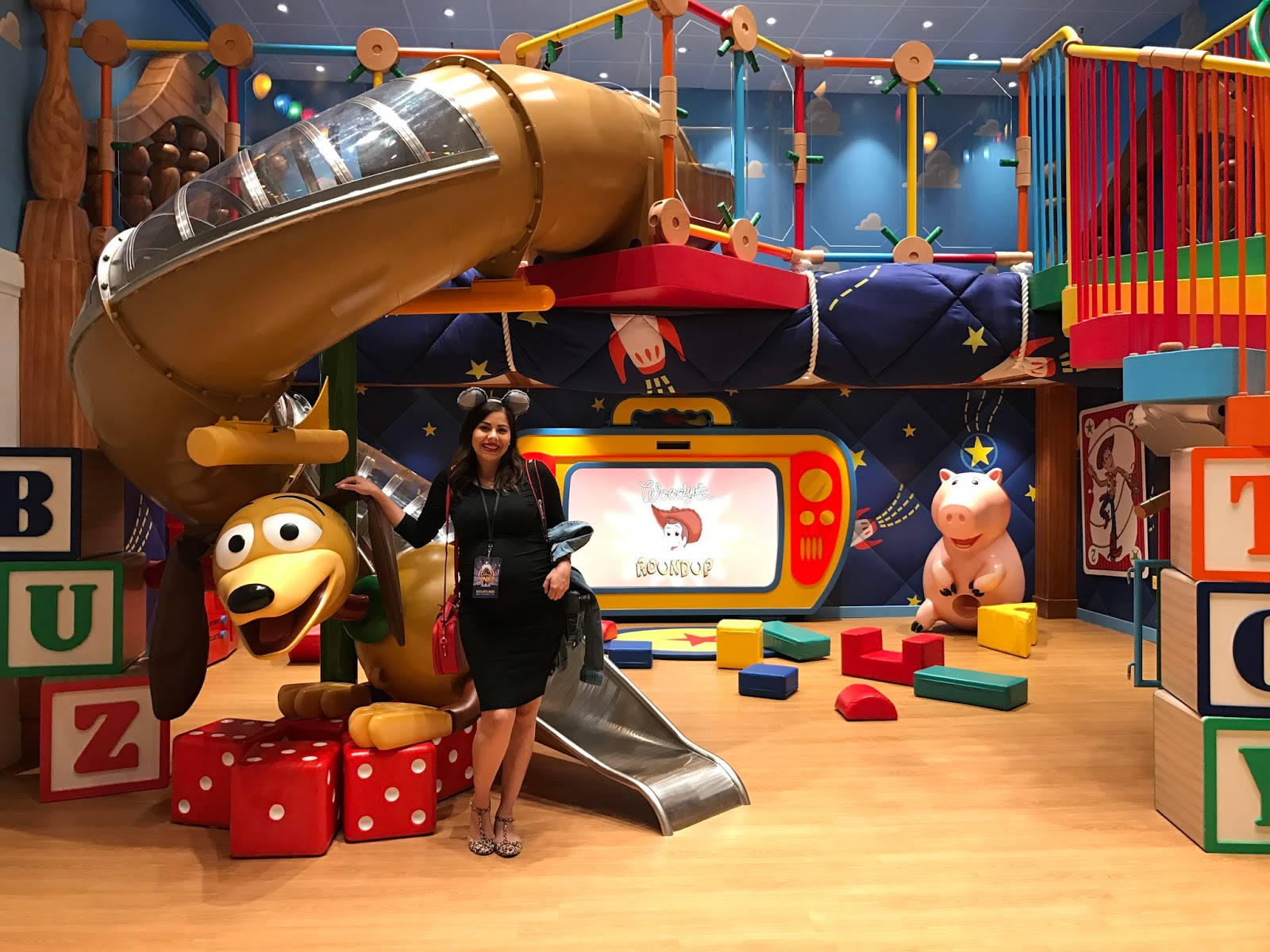 Disney's Oceaneer Club, Andy's Playroom Disney Wonder, Disney Blogger
