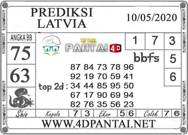 PREDIKSI TOGEL LATVIA PANTAI4D 10 MEI 2020