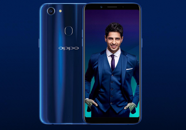Oppo F5 Sidharth Limited Edition in Dashing Blue Colour Launched in India, Priced at Rs 19,990
