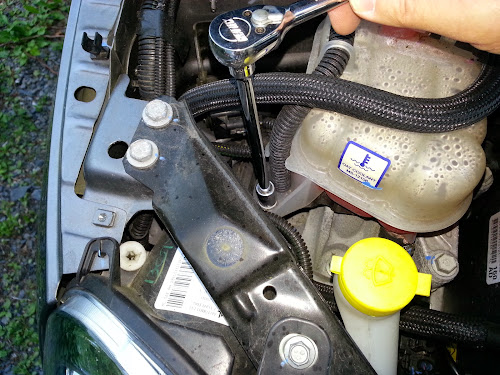 Fiat 500 Coolant Reservoir