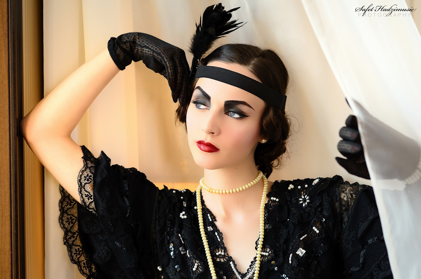 Flapper Hair Style: Idda Van Munster: How To Recreate A 1920's Look